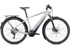 Bicicleta SPECIALIZED Turbo Vado 4.0 - Gloss Dove Grey/Black/Liquid Silver L