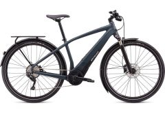 Bicicleta SPECIALIZED Turbo Vado 4.0 - Satin Carbon/Black/Liquid Silver M