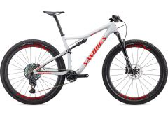 Bicicleta SPECIALIZED S-Works Epic AXS 29'' - Gloss Dove Grey/Rocket Red/Crimson XL
