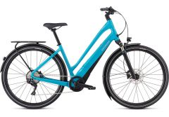 Bicicleta SPECIALIZED Turbo Como 4.0 700C - Low-Entry - Aqua/Black/Chrome L