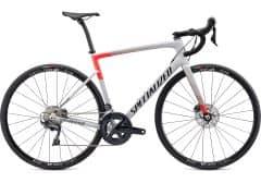 Bicicleta SPECIALIZED Tarmac Disc Comp - Gloss Dove Grey/Rocket Red/Tarmac Black 49