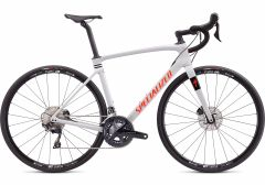 Bicicleta SPECIALIZED Roubaix Comp - Gloss Dove Grey/Crimson-Rocket Red 52