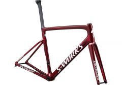 Cadru SPECIALIZED S-Works Tarmac Disc - Gloss Spectraflair/Red Tint/Metallic White Silver 52