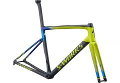 Cadru SPECIALIZED S-Works Tarmac Disc - Gloss Hyper/Oil Chameleon/Tarmac Black/Carbon 49