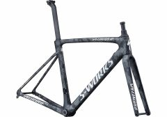 Cadru SPECIALIZED S-Works Roubaix - Team - Satin Black White Team Camo 53