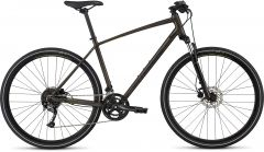Bicicleta SPECIALIZED Crosstrail Sport - Rainbow Flake Black Tint/Nearly Black/Hyper Reflective S