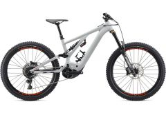 Bicicleta SPECIALIZED Kenevo Comp - Gloss Dove Grey/Rocket Red S3