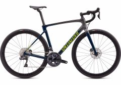 Bicicleta SPECIALIZED Roubaix Expert - Dusty Gloss Dusty Turquoise-Cast Blue/Charcoal/Hyper 44