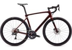 Bicicleta SPECIALIZED Roubaix Expert - Crimson/Cast Berry/Gloss Dove Grey 58