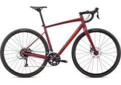 Bicicleta SPECIALIZED Diverge E5 - Satin Crimson/Rocket Red Clean Red 52