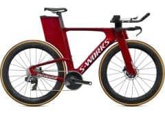 Bicicleta SPECIALIZED S-Work Shiv Disc - SRAM Red eTap AXS Gloss Metallic Crimson/Dove Grey L