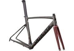 Cadru SPECIALIZED Allez Sprint - Polished Chrome Black/Black/Crimson Metallic 58