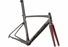 Cadru SPECIALIZED Allez Sprint - Polished Chrome Black/Black/Crimson Metallic 56