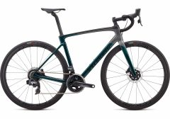 Bicicleta SPECIALIZED Roubaix Pro - SRAM Force eTap AXS - Gloss Teal Tint/Charcoal/Blue 61