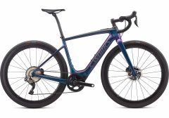 Bicicleta SPECIALIZED S-Works Turbo Creo SL - Gloss Supernova Chameleon/Raw Carbon L
