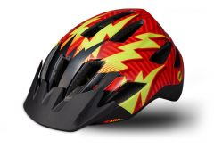 Casca copii SPECIALIZED Shuffle LED MIPS - Rocket Red/Black Lightning - Child