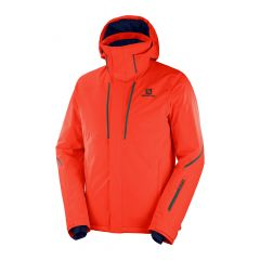 Geaca schi SALOMON StormSeason Waterproof - Portocaliu 2XL