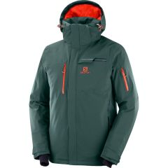 Geaca schi SALOMON Brilliant Waterproof - Verde XL