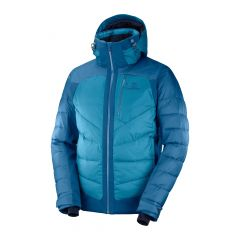 Geaca schi SALOMON IceShelf Waterproof - Albastru XL