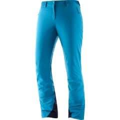 Pantaloni schi SALOMON IceMania - Albastru S/R