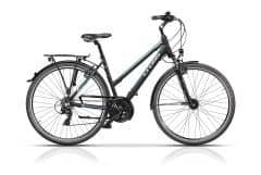 "Bicicleta CROSS Arena Lady Trekking 28"" Negru/Albastru 480mm"