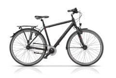 Bicicleta CROSS Citerra Man 28 Negru/Gri 560mm