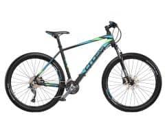 "Bicicleta CROSS Fusion Man 27.5"" Negru/Albastru/Verde 460mm"