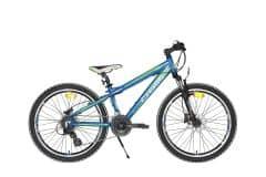 Bicicleta CROSS Gravito 24'' Hydraulic Albastru/Verde