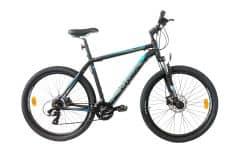"Bicicleta CROSS Grip 27.5"" Negru/Albastru/Gri 520mm"