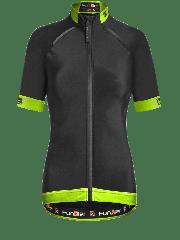 Tricou FUNKIER Bernalda Pro Aqua termic barbati - Negru/Galben neon L