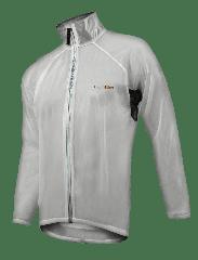 Jacheta FUNKIER Active Rain Jacket - Transparent L