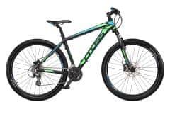 Bicicleta CROSS Grx 27.5 Negru/Verde/Albastru 460mm