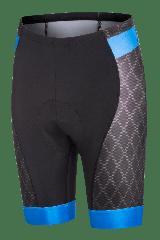 Pantaloni scurti FUNKIER Aosta Pro barbati cu bazon gel - Albastru S