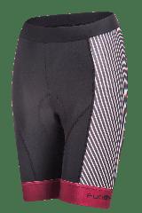 Pantaloni scurti FUNKIER Ortona Pro dama cu bazon - Rosu inchis XL