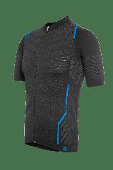 Tricou FUNKIER Respirare Elite barbati - Gri/Albastru XL/2XL