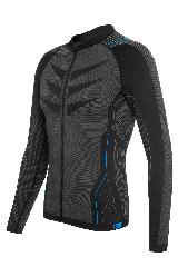 Bluza termica FUNKIER Campania Elite barbati - Gri/Albastru XS/S