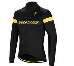 Jacheta ciclism SPECIALIZED Element RBX Sport Logo Jacket Black/Yellow XL