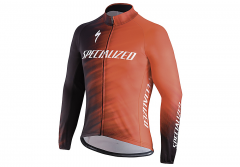 Jacheta ciclism SPECIALIZED Therminal SL Team Expert Jersey LS Rocket Red/Black Faze XXL