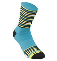 Sosete SPECIALIZED Full Stripe - Nice Blue/Black/Yellow XL