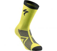 Sosete SPECIALIZED SL Elite Winter - Neon Yellow/Black S