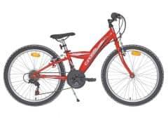 Bicicleta CROSS Rocky 24 Rosu