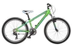 Bicicleta CROSS Speedster 24 Baieti Verde/Albastru/Negru 300mm