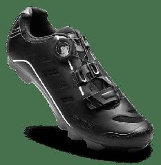 Pantofi ciclism FLR F-75 II Elite Mtb - Negru 45 (incl. 1 pereche sosete)