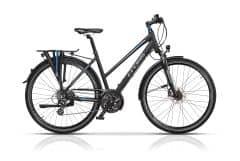 "Bicicleta CROSS Travel Lady Trekking 28"" Negru/Albastru 520mm"