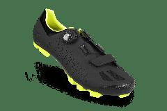 Pantofi ciclism FLR F-70 Elite Mtb - Negru/Galben neon 45