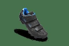 Pantofi ciclism FLR F-55 III Elite Mtb - Negru/Albastru 36