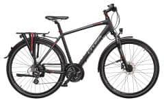 Bicicleta CROSS Travel Man Trekking 28'' Negru/Rosu 480mm