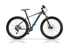 """Bicicleta CROSS Xtend 27.5"""" Negru/Albastru/Rosu 520mm"""
