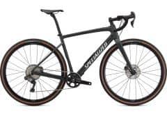 Bicicleta SPECIALIZED Diverge Expert Carbon  - Satin Oak Green Metallic/Gloss White/Chrome/Clean 56