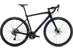 Bicicleta SPECIALIZED Diverge Sport Carbon - Gloss Forest Green/Ice Papaya/Chrome/Wild Ferns 58